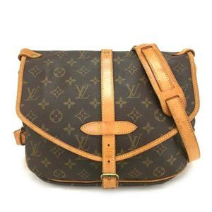 100% Auth Louis Vuitton Saumur 30 Cross body Bag
